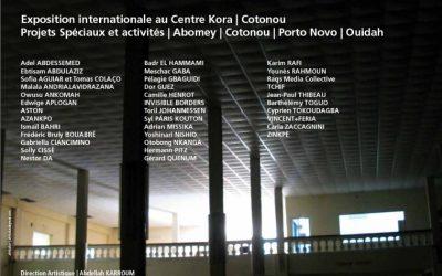Biennale Bénin 2012 / Installation Cité Baata de Syl. Pâris. KOUTON. Exposition Internationale. Commissaire : Abdellah KARROUM